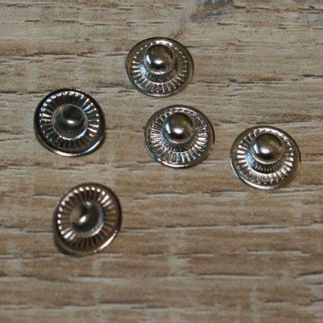 mini kale drukker plat 9mm - per 50 stuks