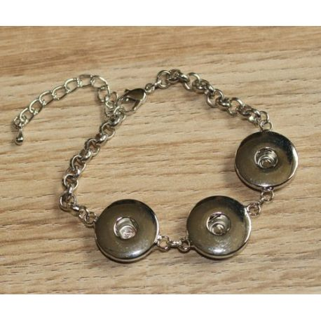 metalen armband 3 clicks