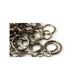 rvs jumpringen 6mm x 0.7mm goud