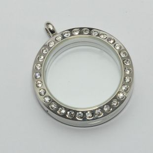 locket strass 30mm
