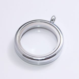 Floating Locker silver 30mm